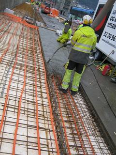 betongarbete