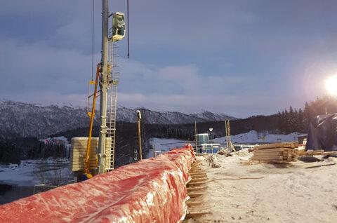 Große Vorteile beim Betongießen zur Winterzeit, Isoja etuja talvivaluun